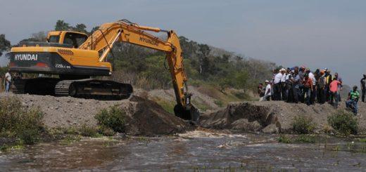 Recuperación de río Madre Vieja. Foto: Plaza Pública